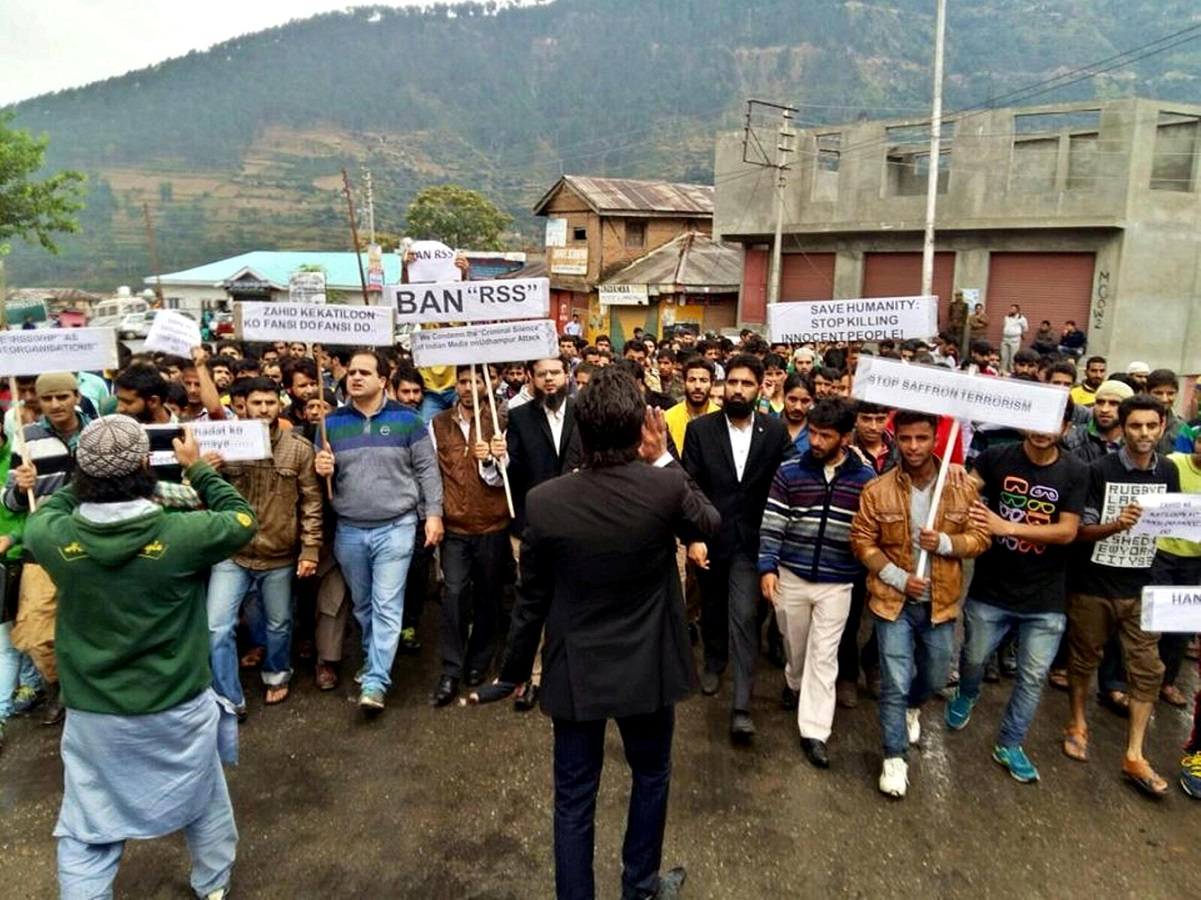 Police Frame Jammu Lawyer Who Protested Against BJP/RSS