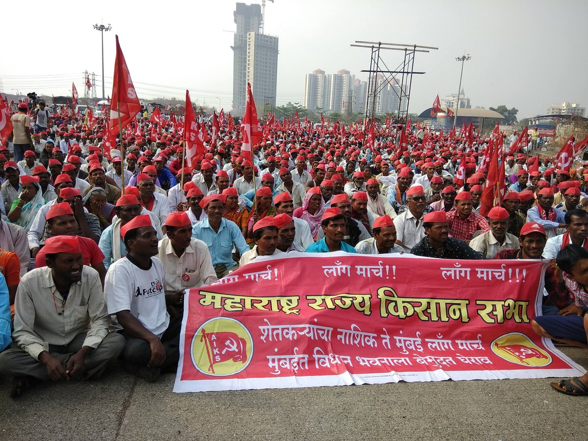 Seeking Loan Waiver, Higher MSP, Thousands of Farmers March Into Mumbai
