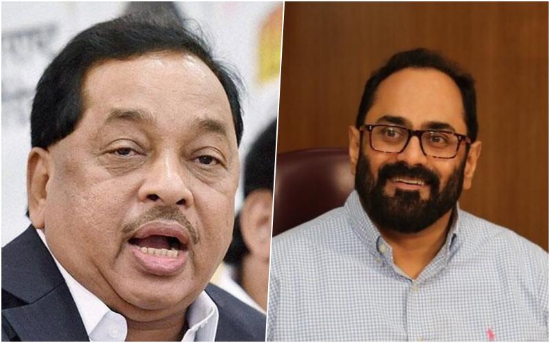 Party Hopper Narayan Rane, 'Independent' Rajeev Chandrashekhar Get BJP Ticketsfor Rajya Sabha