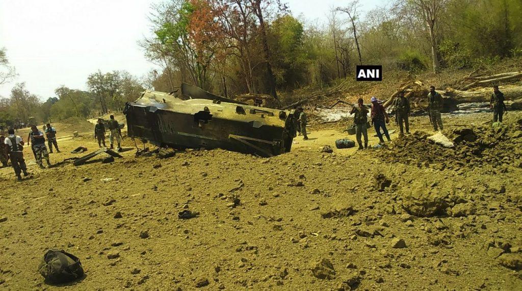 Sukma: Nine CRPF Personnel Killed in Naxal Attack