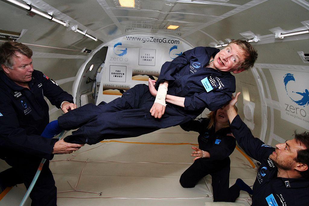 Stephen Hawking, the Cosmic Bard
