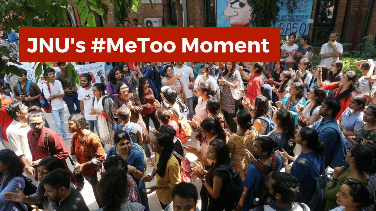 Watch: JNU's #MeToo Moment And Two Years of Administrative Failures