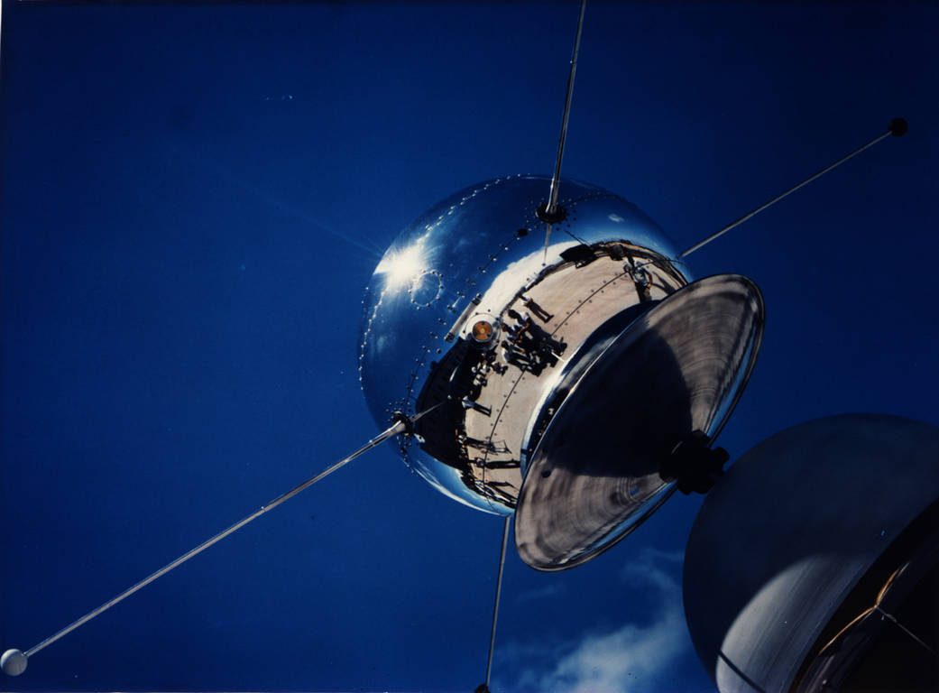 One of the Vanguard satellites in Florida in 1958. Credit: NASA