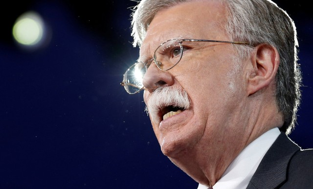 Trump Picks Hardliner Bolton to Replace McMaster as National Security Adviser