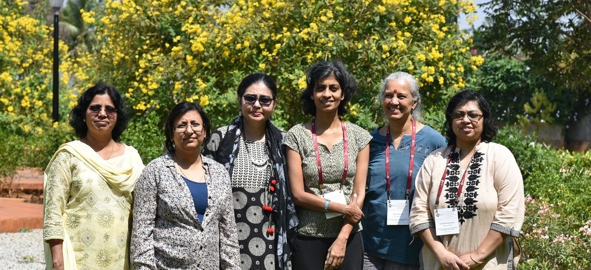 Gender in Physics working group of the Indian Physics Association. Credit: ICTS-TIFR