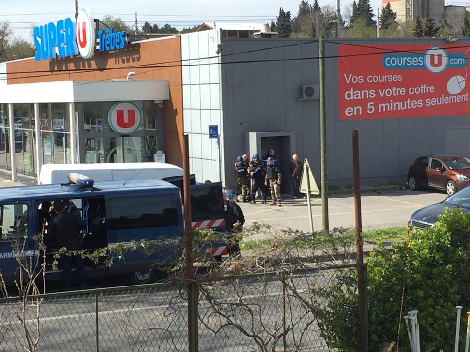 Hostage Crisis in Supermarket in France, at Least Three Dead