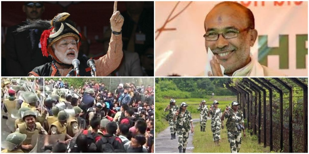 NE Dispatch: The Pull of a Gujarat Gala; Strike for Salaries in Manipur and Border Movements