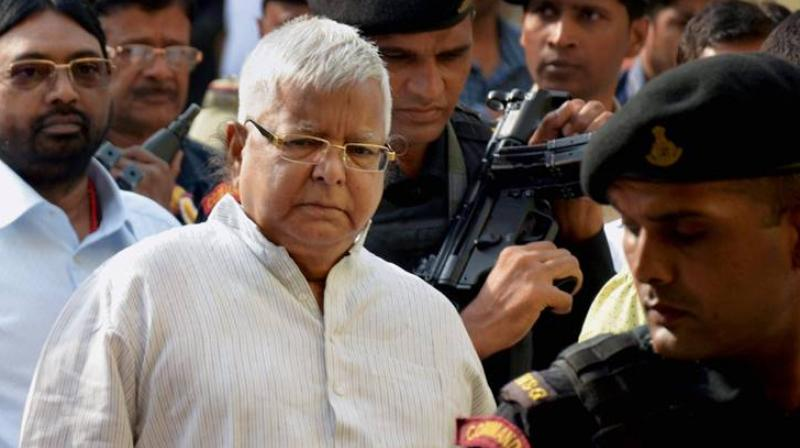 Lalu Prasad Sentenced to 14-Year Jail Term in Fodder Scam Case