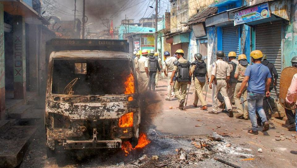 West Bengal Governor Tripathi visits violence-hit Asansol