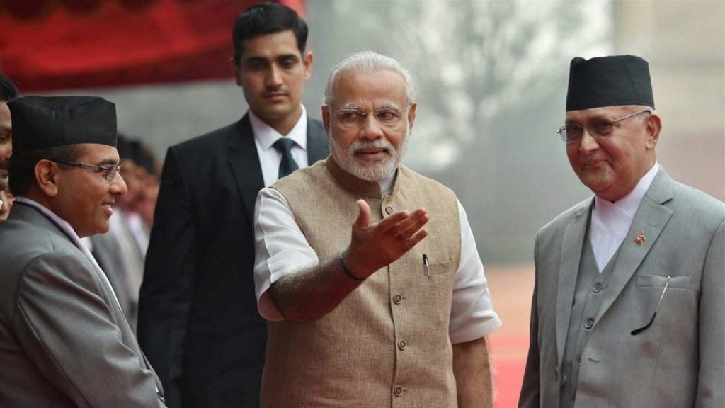 As Nepal's Oli Looks to Bolster Ties With China,Modi May Be in for a Rude Awakening