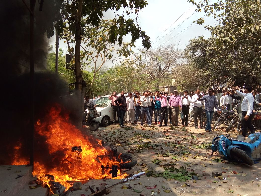 Bharat Bandh: Clashes Reported Across States; Four Dead in MP