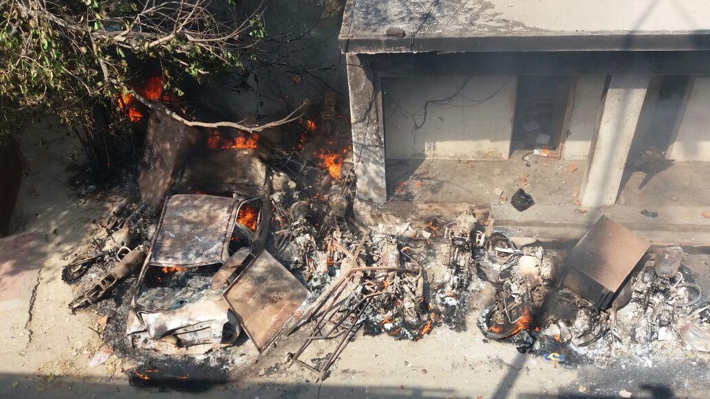Violence in Meerut. Credit: Munish Kumar