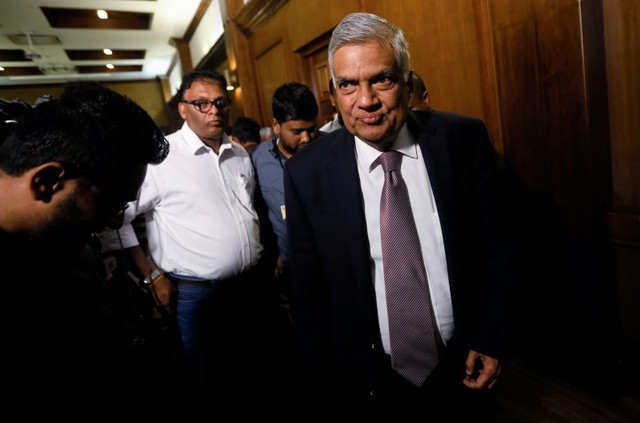 Prime Minister Ranil Wickremesinghe faces no-confidence vote in Parliament