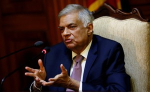 Sri Lankan PM Survives No Confidence Vote