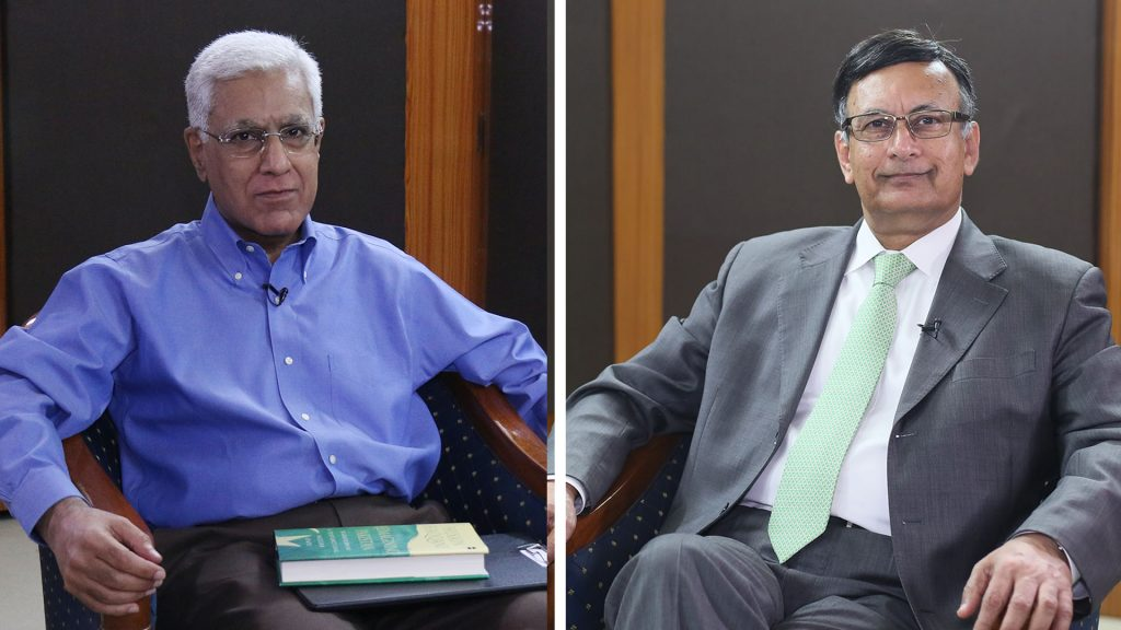 Watch: Karan Thapar Interviews Husain Haqqani on 'Reimagining Pakistan'