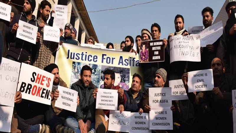 Massive protests across nation over Unnao, Kathua rape cases