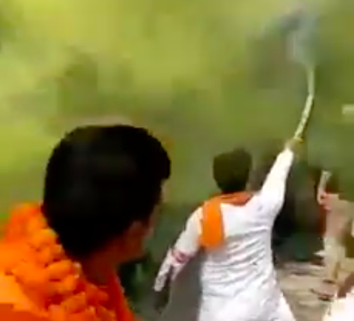 Swords Brandished, Saffron Flags Waved at Mosques During Delhi Bike Rally