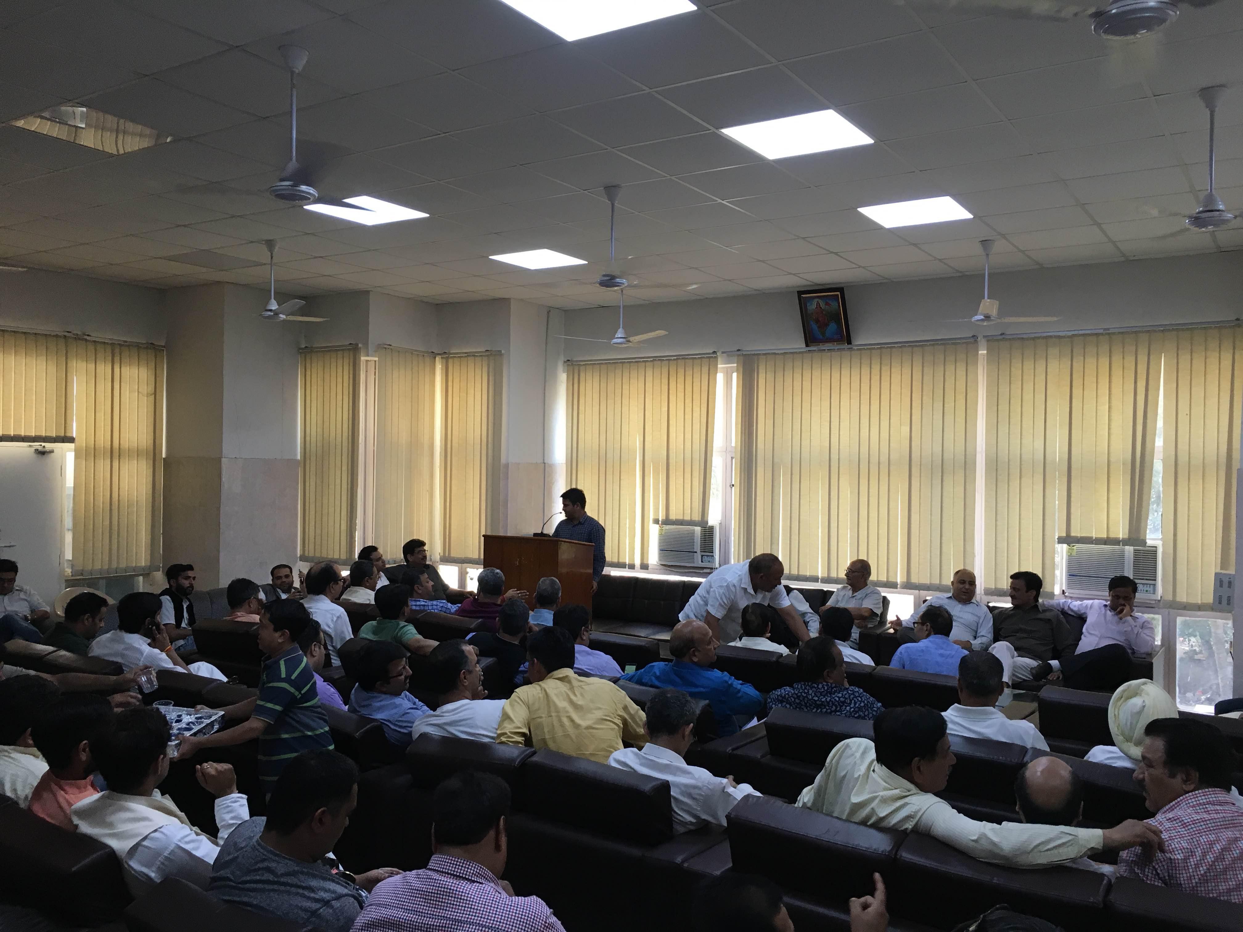 Civil society meeting called by the Jammu Bar Association. Credit: Kabir Agarwal