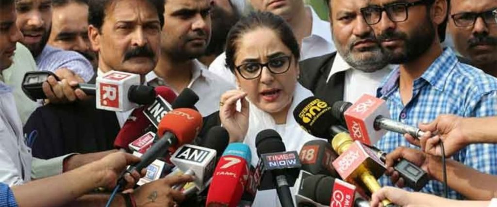 Kathua Case Lawyer Deepika Rajawat Slams 'False' News About Collecting Money