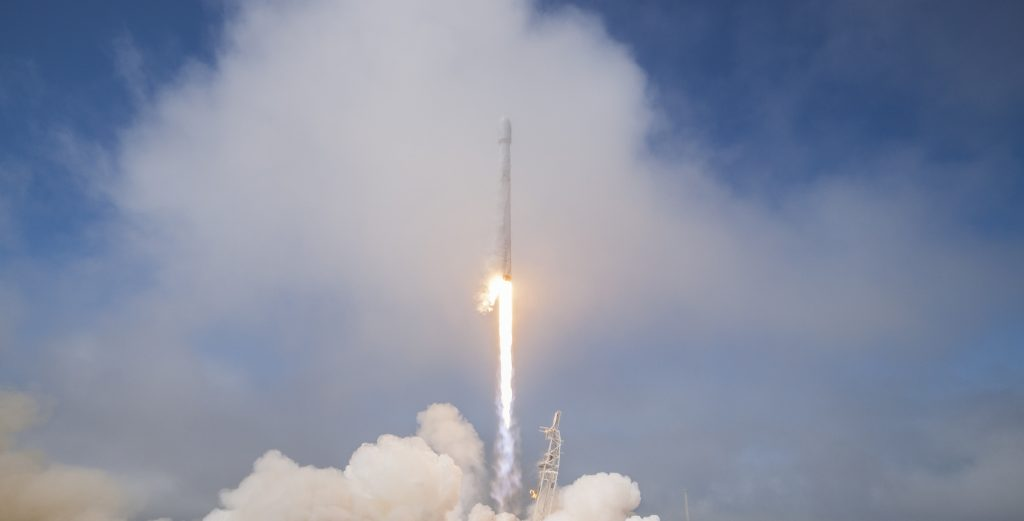 The SpaceX Launch That Punched a Hole in Earth's Ionosphere