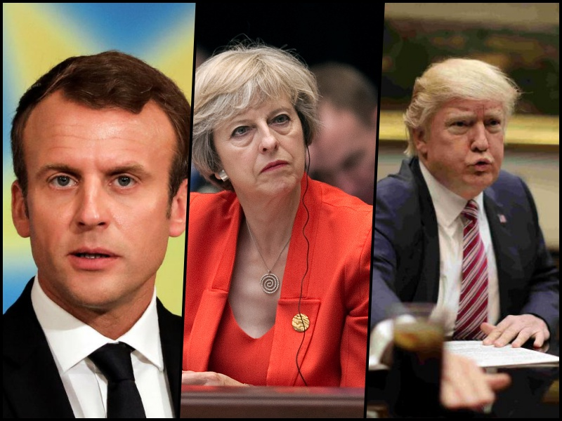 France, UK and the US fired 105 Tomahawk missiles into Syria. Credit: Reuters