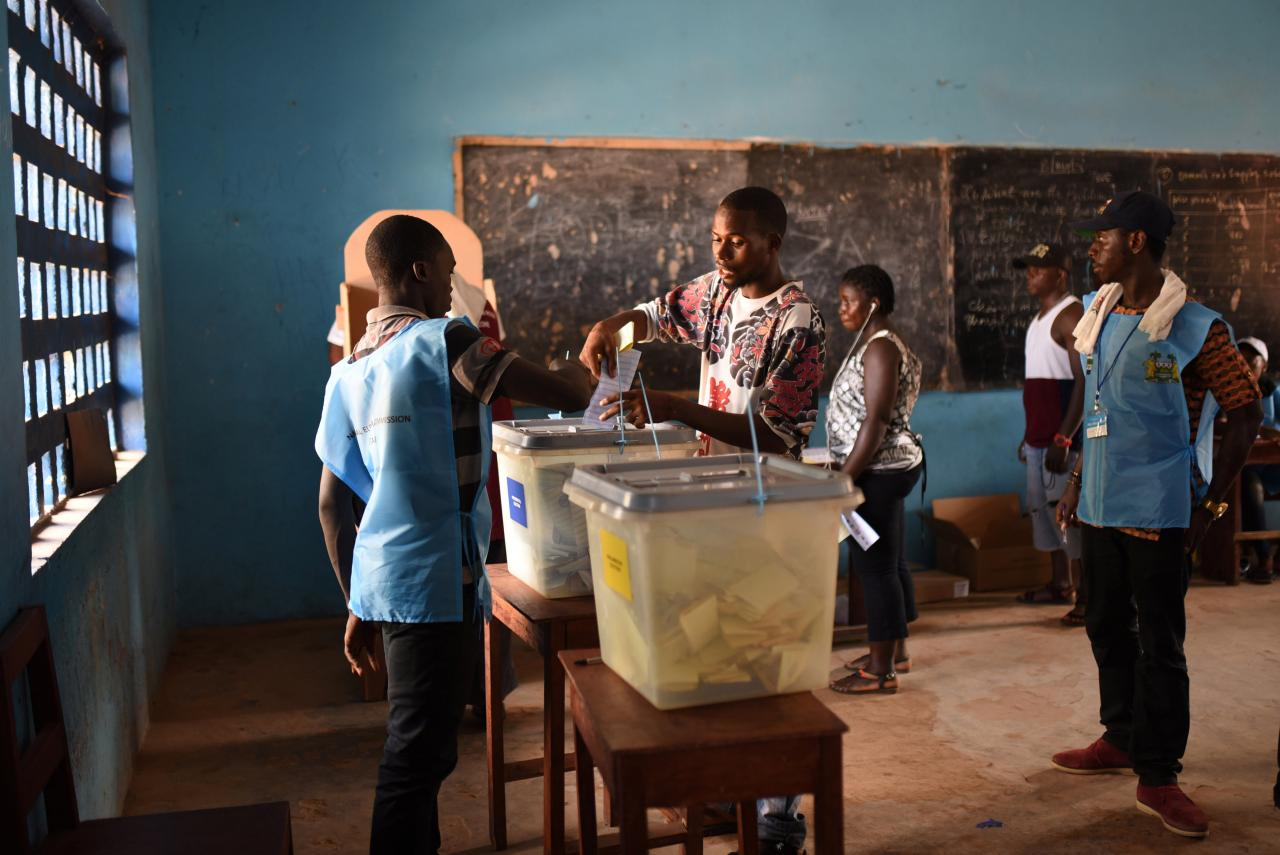 Coverage of Sierra Leone's Election Reflected Stereotypes, Not Reality