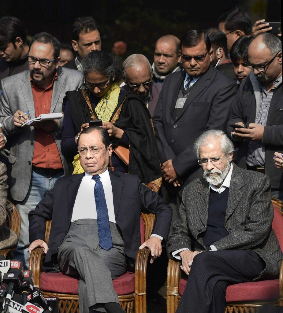 Justices Gogoi, Lokur Urge CJI Misra to Call 'Full Court' to Discuss SC's Future