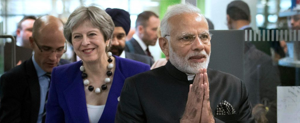 Modi's Visit Signals Shifting Power Dynamics Between India and the UK