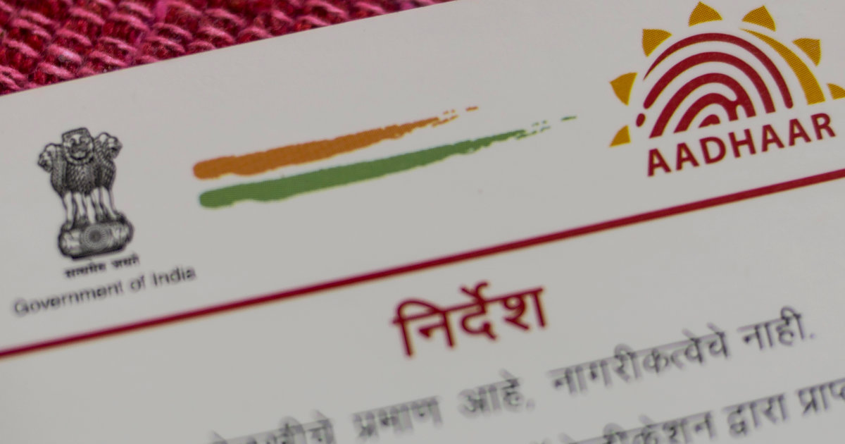 Aadhaar Remains an Unending Security Nightmare for a Billion Indians