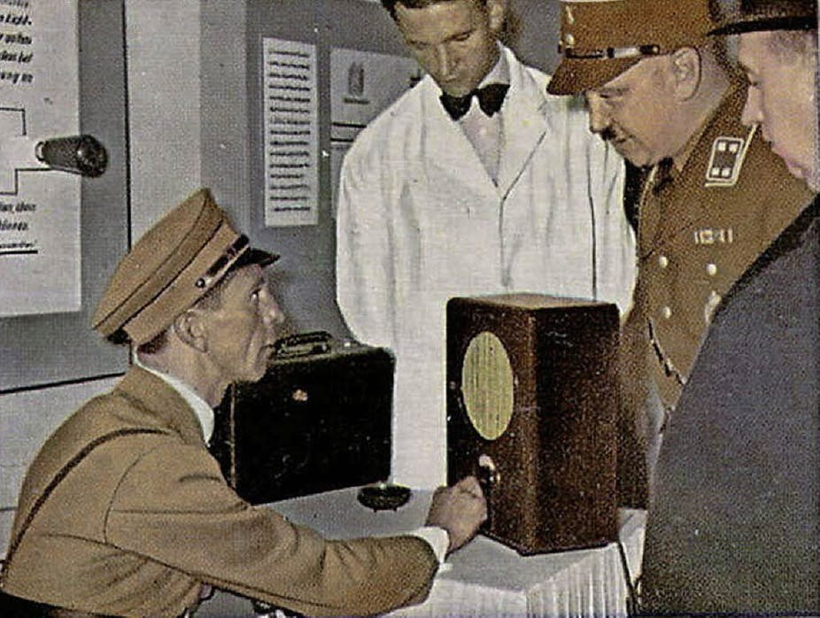 Nazis Pressed Ham Radio Hobbyists to Serve the Reich – but Survival Came at a Price