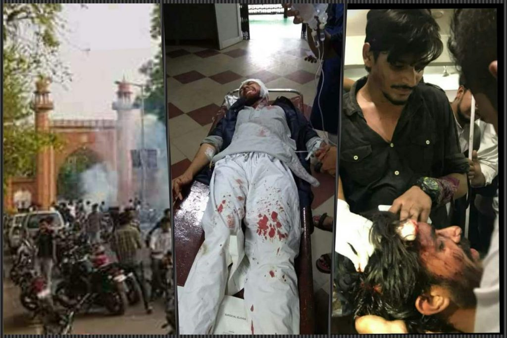For Jinnah Portrait Hanging Since 1938, Hindutva Activists Attack AMU Students
