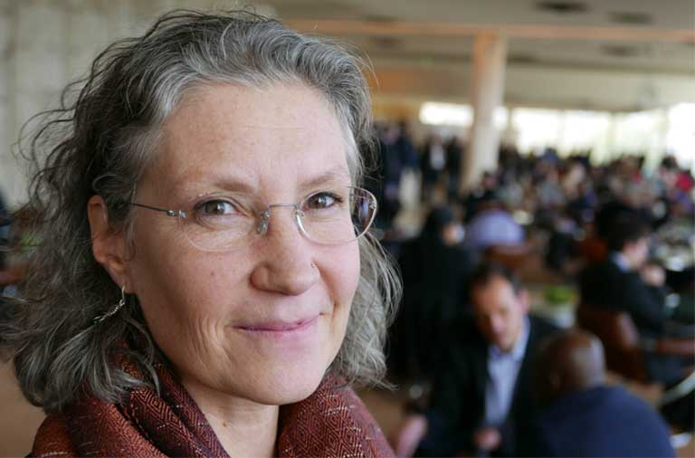 "Doreen Stabinsky is a professor of global environmental politics at the College of the Atlantic in Maine. She has closely observed the IPCC and its members responsible for approving international carbon-accounting models. ""The IPCC isn't a neutral body… Their meetings are loudly political,"" she told Mongabay. Courtesy: Niclas Hallström"