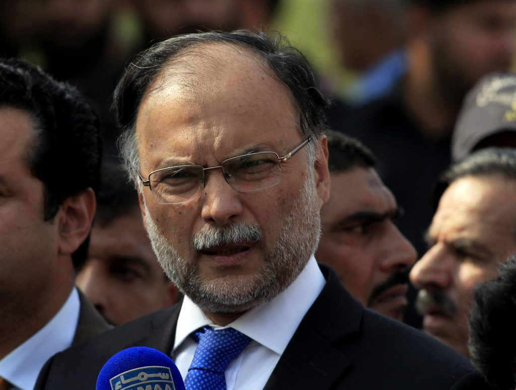 Pakistan's Interior Minister Injured in Suspected Assassination Attempt