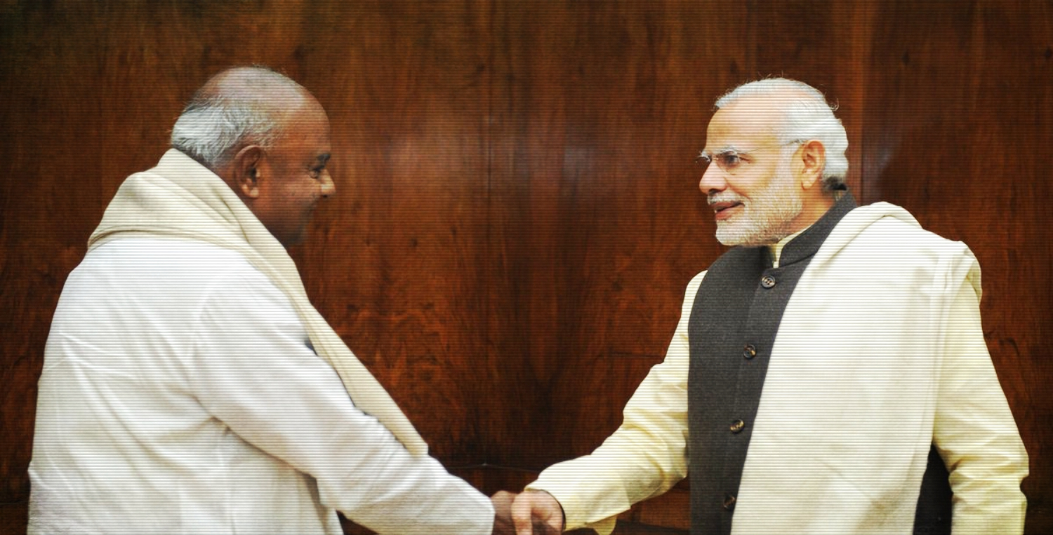 Does Modi's Attack on JD(S) Signal a Potential Shift by Deve Gowda's Party?