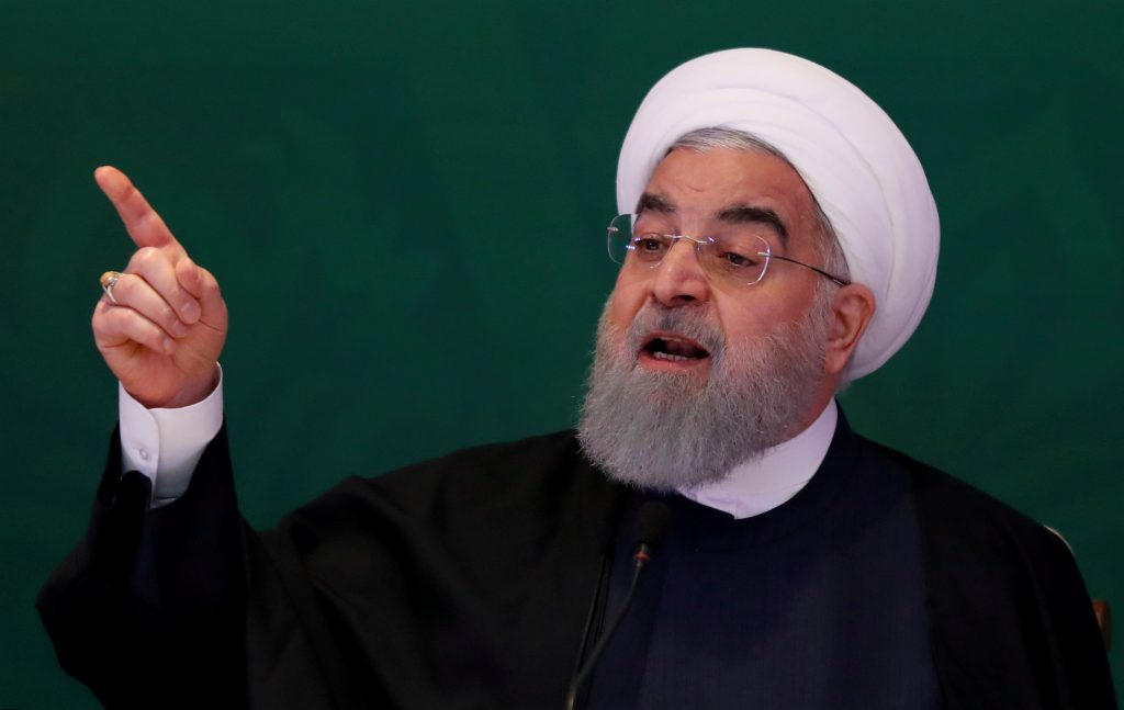 Iran's Rouhani Says US Sanctions May Lead to Drugs, Refugee, Bomb 'Deluge'