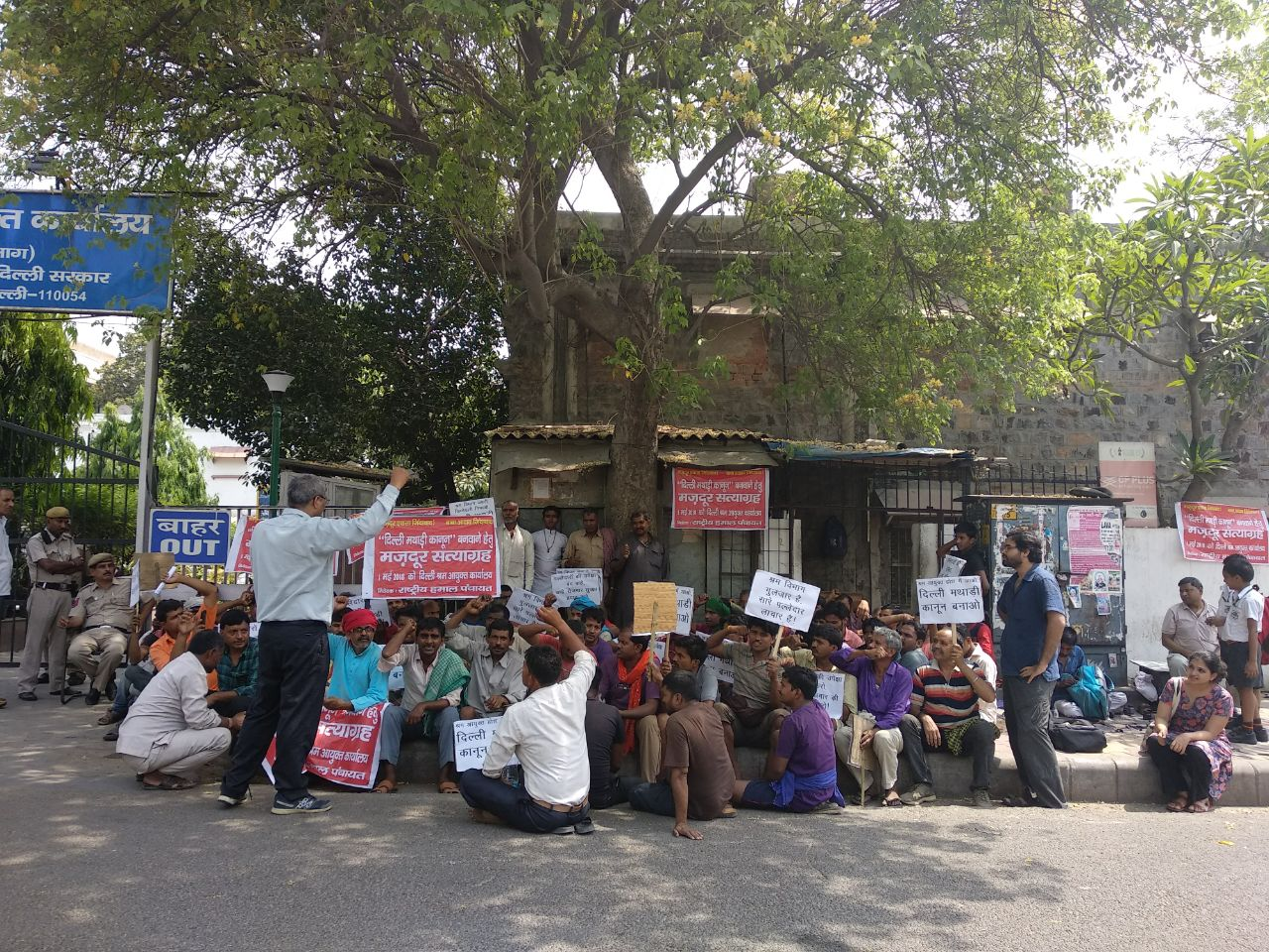 At the Cost of a Day's Earnings, Delhi's 'Palledars' Stage May Day Protest