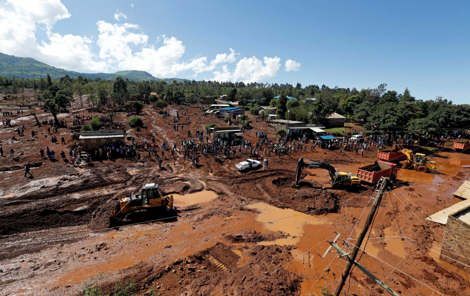 In Kenya, a dam was broken: tens victims