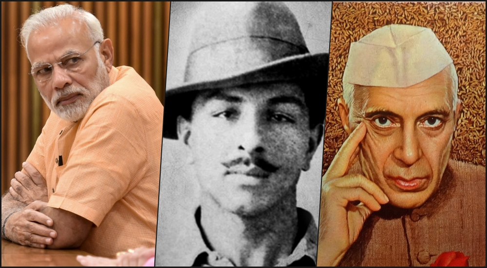 Modi Says No Congress Leader Visited Bhagat Singh in Jail, but That's Not True