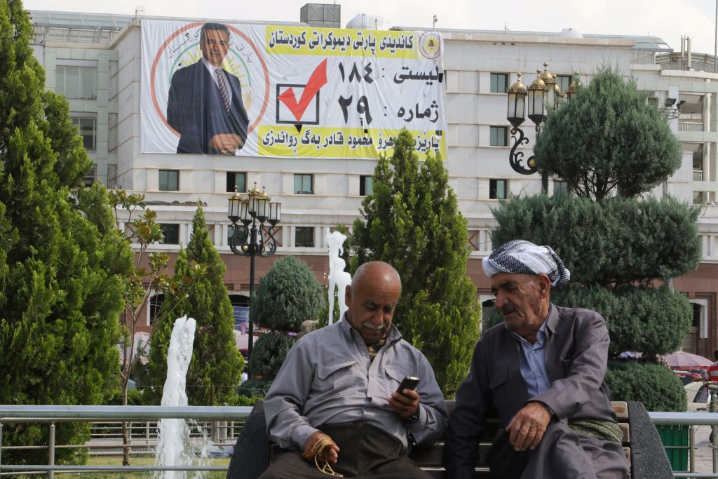 Upcoming Iraqi Poll Reveals Political Crisis in the Kurdistan Region