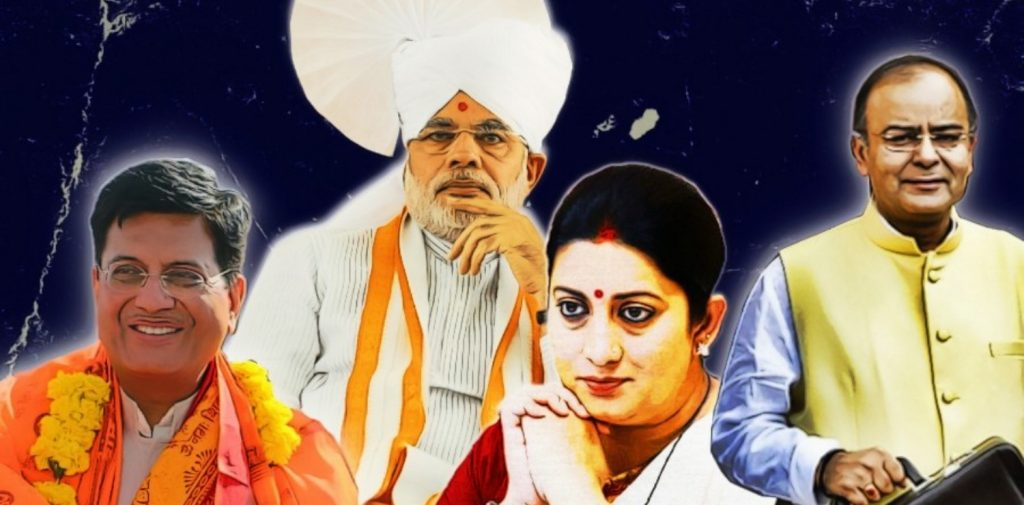 Smriti Irani Demoted Because of Conflicts, Piyush Rises Despite Them