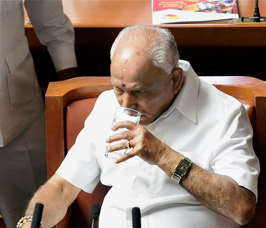 Karnataka: Numbers Beyond Him, Yeddyurappa Resigns as CM Before Floor Test