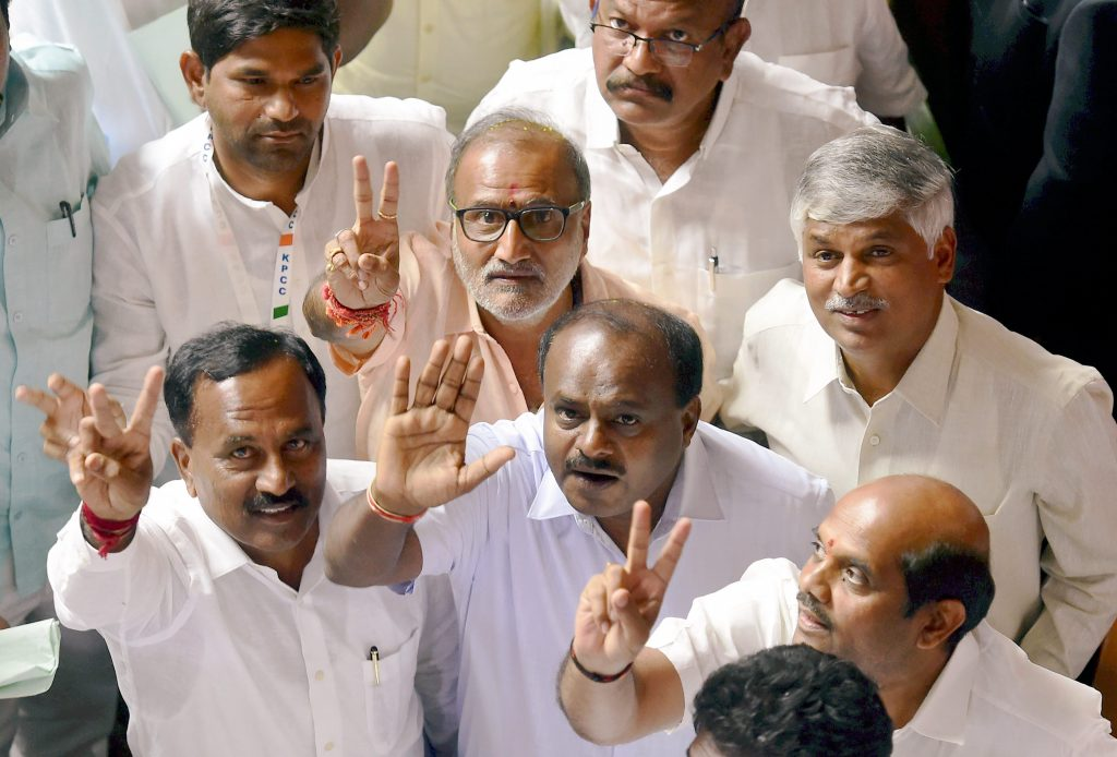 JD(S)-Congress Invited to Form Government in Karnataka; Swearing in on Monday