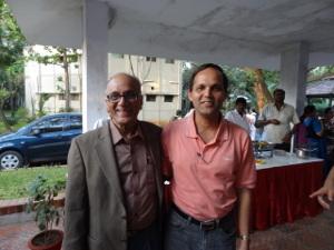 C.S. Seshadri with his brother C.S.Rajan.Credit C.S. Seshadri