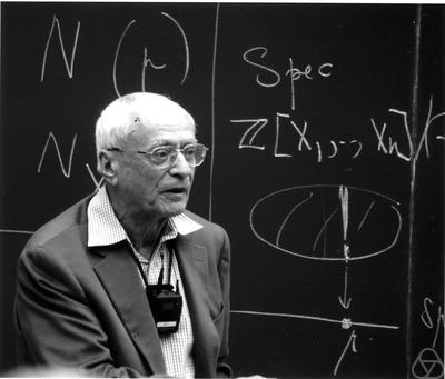 Jean-Pierre Serre. Credit: Gerd Fischer/The Mathematisches Forschungsinstitut Oberwolfach