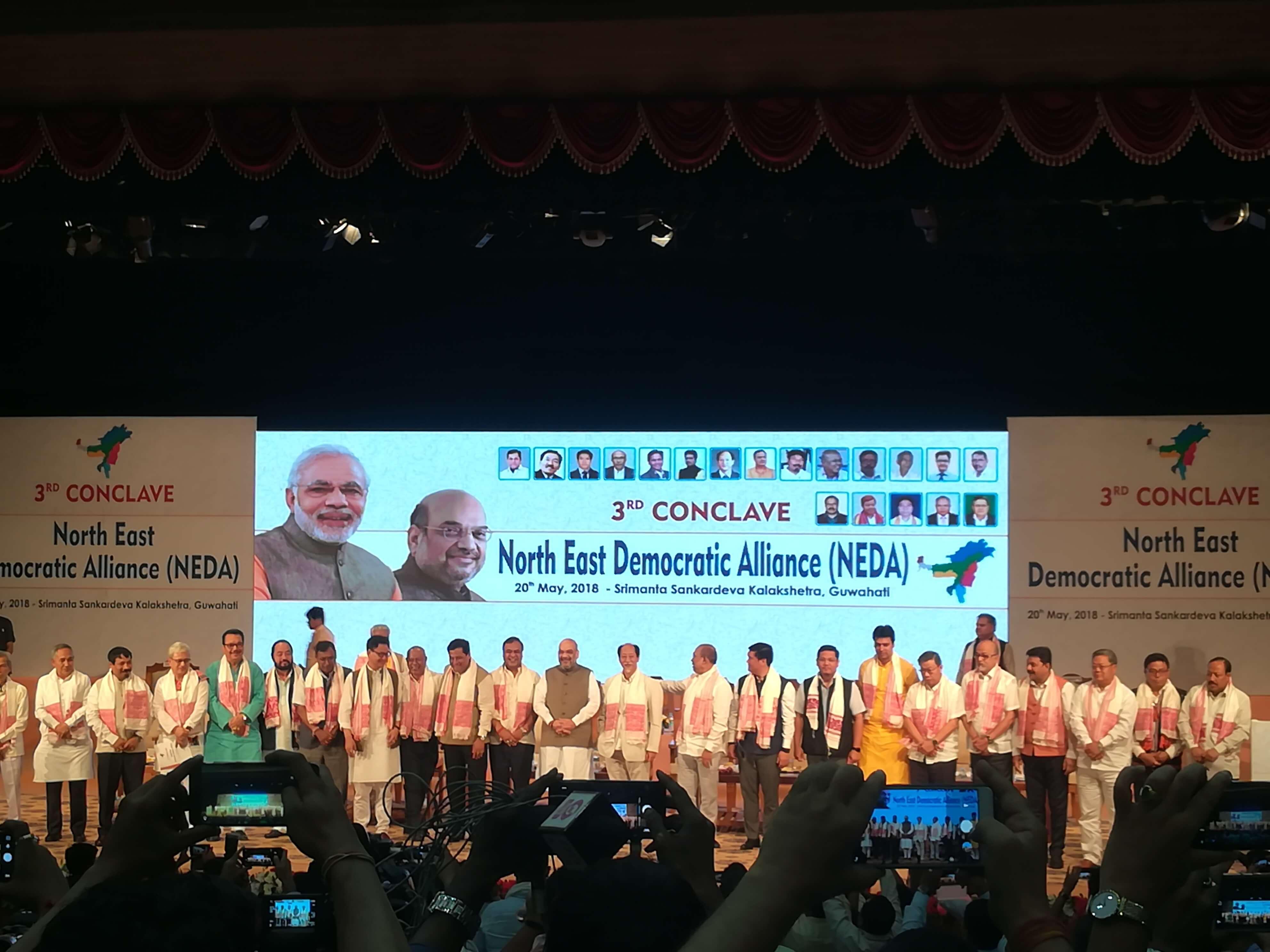 At NEDA Conclave, 'Congress Mukt Bharat' Trumps Citizenship Amendment Bill