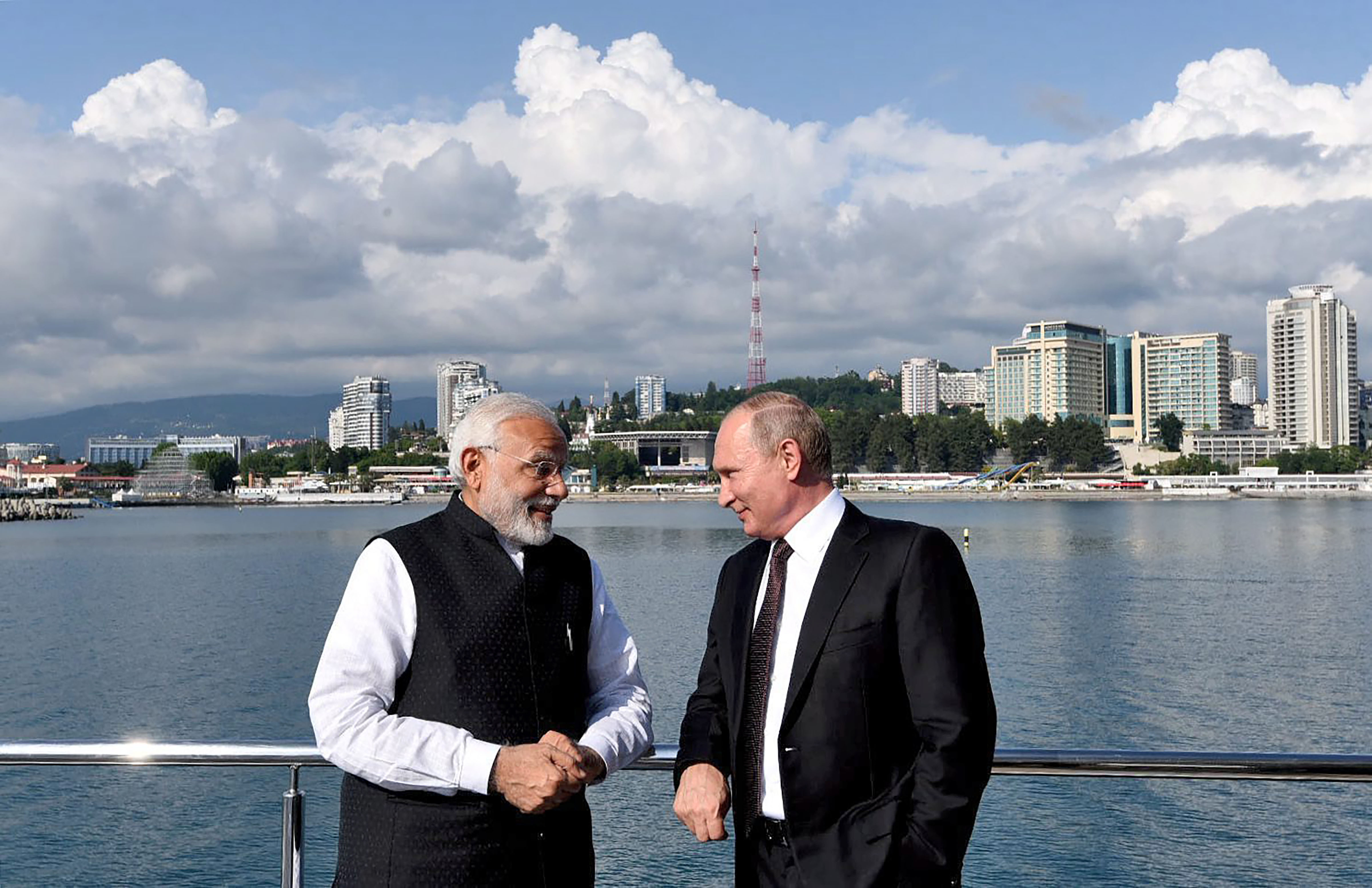 At Sochi, Modi, Putin Hold 'Intense' Talks and Cement 'Special Privileged' Ties