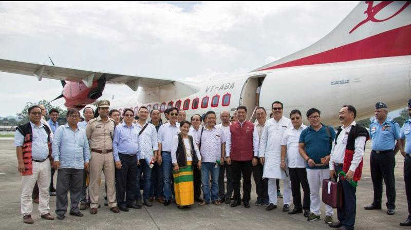 Fact Check: Pema Khandu's 'Commercial' Flight to Pasighat Was Not a 'First'