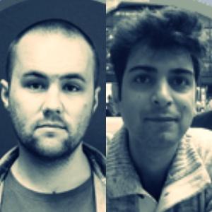 Alex MacDonald and Mustafa Abu Sneineh