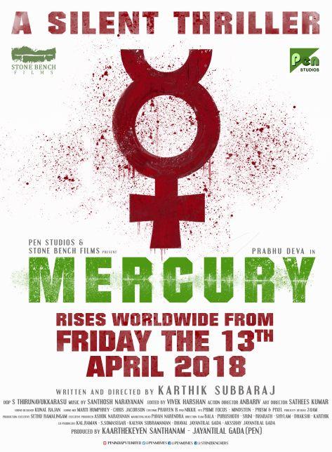The poster for Karthik Subbaraj's 'Mercury' (2018). Source: Twitter