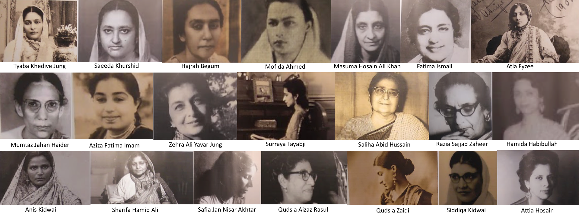 Paying Tribute to Pathbreaking, and Forgotten, Muslim Women from the 20th Century